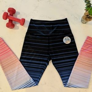 Beyond Yoga Pants - Lux Summer Shades High Waisted Long Legging
